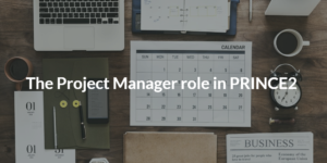 Project Manager, The role of Project Manager, PRINCE2 project management