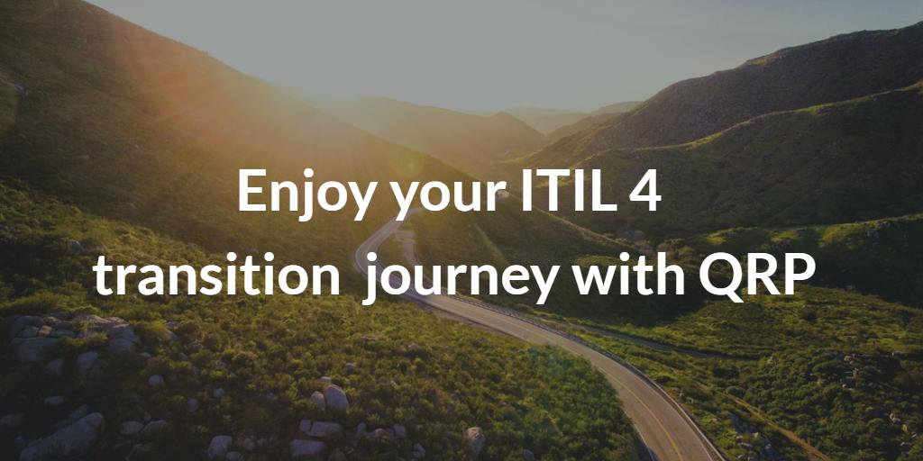 ITIL 4, ITILv4,  ITIL 4 transition, de itil v3 à itil 4