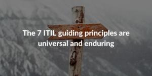 7 guiding principles ITIL