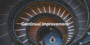 ITIL 4 Continual improvement
