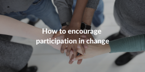 participation in change