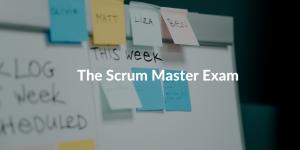 scrum master exam