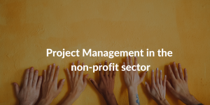 project management in the non-profit sector